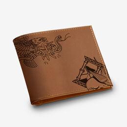 Three Kings Wallet, 1015650 Brown, blockout
