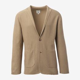 The Thompson Knit Blazer, 1015292 Camel, blockout