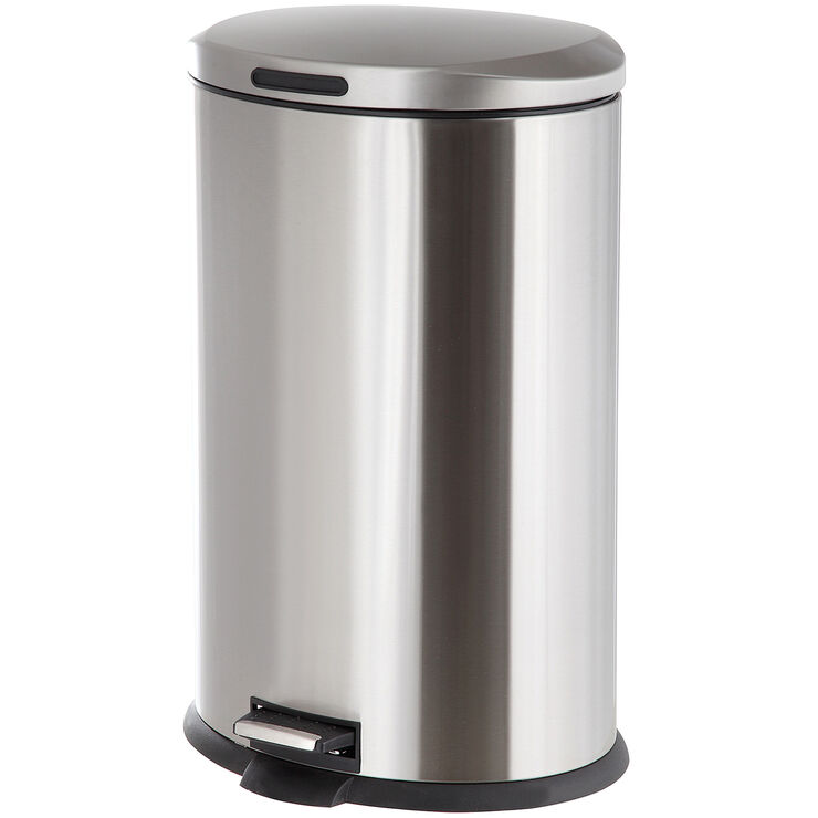 Chrome Trash Can