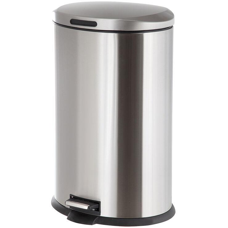 Chrome Trash Can
