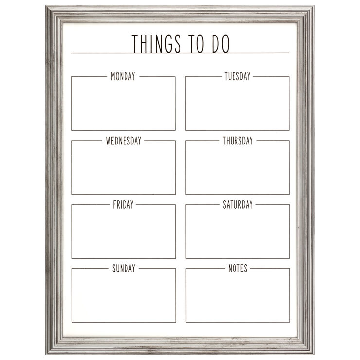 To-Do Wooden Memo Board