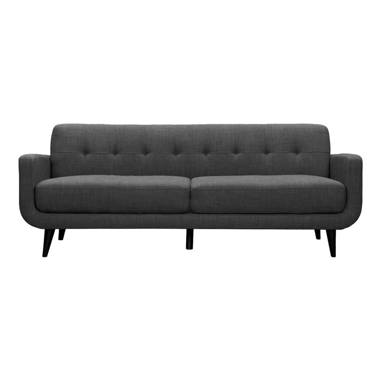 Hadley Sofa Heirloom Charcoal Gray At Home 15609 The Olive House Sofabed Fabric Lux Grey