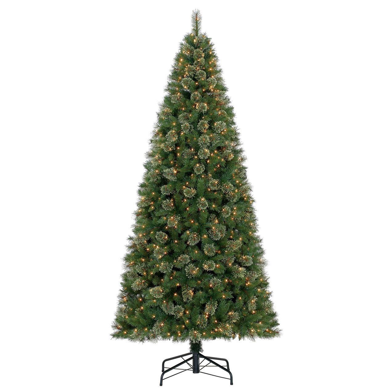C34 10ft Pre Lit Anderson Fir Christmas Tree