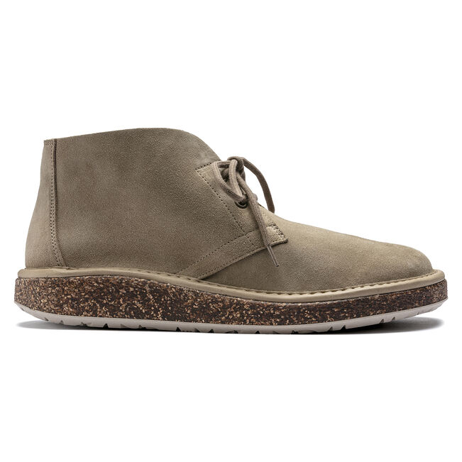 Milton Suede Leather Ginger