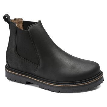 Stalon Nubuck Leather Black