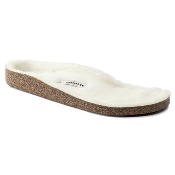 Shearling footbed White