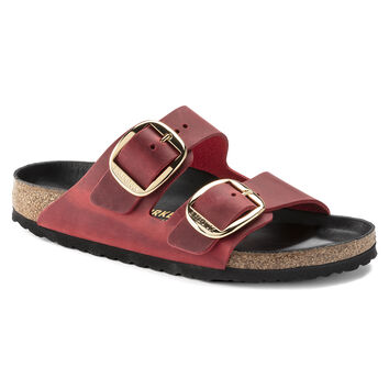 Arizona Oiled Leather Fire Red