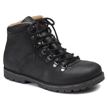Jackson Nubuck Leather Black