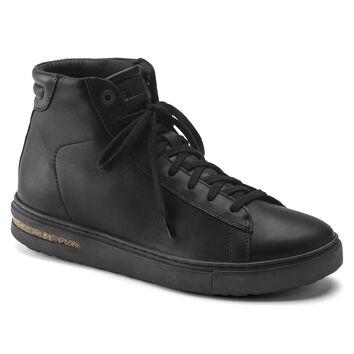 Bend Mid Natural Leather Black