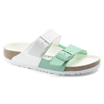 Arizona Birko-Flor White/Bold Jade