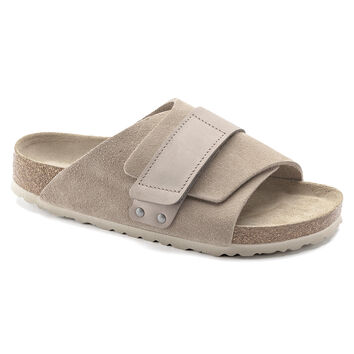 Kyoto Nubuck/Suede Leather Gray Taupe