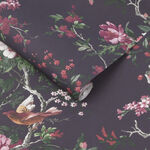 Venetian Deep Plum Wallpaper