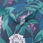 Botanical Midnight Wallpaper