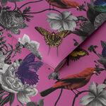 Jardin Magenta Wallpaper