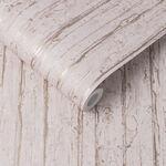 Grain Texture Cherry & Rose Gold Wallpaper
