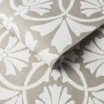 Thrones Chalk & Taupe Wallpaper