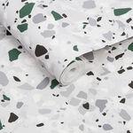 Terrazzo Green Wallpaper