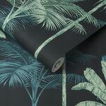 Jungle Mood Green Wallpaper