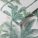 Jungle Luscious Green Wallpaper