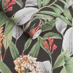 Botanical Black Wallpaper