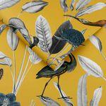 Glasshouse Mustard Wallpaper