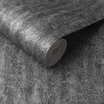 Orbit Deep Silver Wallpaper