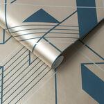 Graphic Cobalt Wallpaper