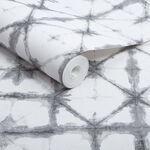 Indigo Grey Wallpaper