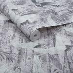 Crane Grey Wallpaper
