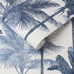 Jungle Cobalt Wallpaper