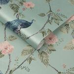 Resplendence Aqua Wallpaper