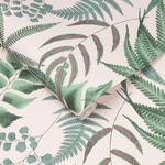Midsummer Fern Blush Wallpaper