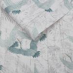 Crane Green Wallpaper
