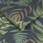 Midsummer Fern Navy Wallpaper