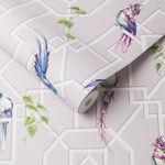 Bird Cage Blush Wallpaper