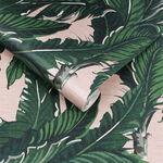 Daintree Palm Blush Wallpaper