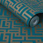 Zen Teal Wallpaper