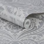 Desire Silver Wallpaper