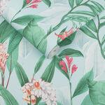 Botanical Duck Egg Wallpaper