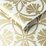 Thrones Golden pearl Wallpaper