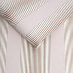 Lagom Stripe Blush & Rose Gold Wallpaper