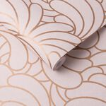Bananas Copper Blush Wallpaper