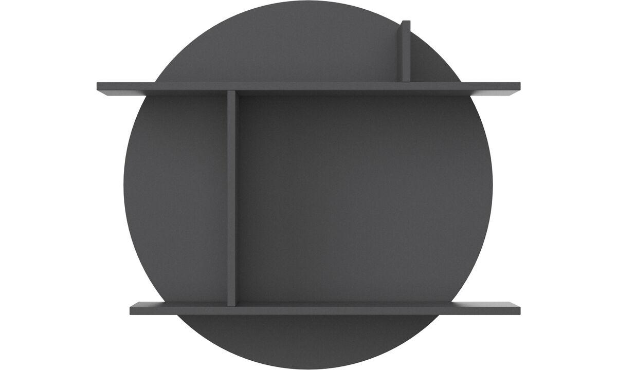 Bogkasser og hylder - Como hylde - Lakeret