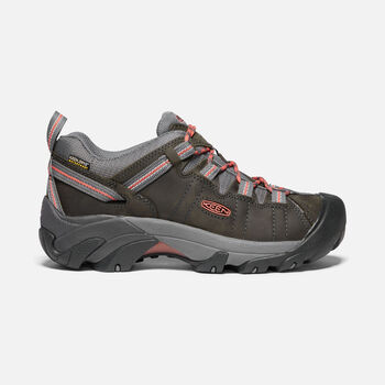 Women's Targhee II Waterproof in Magnet/Coral - large view.