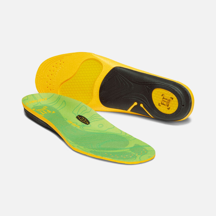 Women's Outdoor K-30 Low Arch Insole in GREEN - large view.