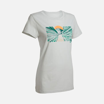 Women's Slot Canyon Tee in HARBOR MIST - large view.