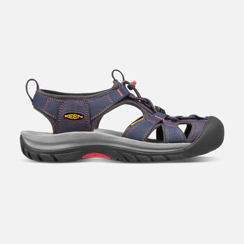Women's Venice H2 in Midnight Navy/Hot Coral - large view.