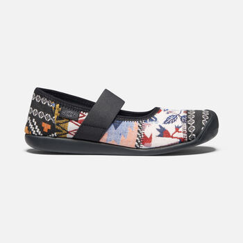 Women's Sienna Canvas Mary Jane in Multi/Black - large view.