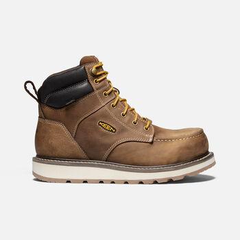 "Men's Cincinnati 6"" Waterproof Boot (Carbon-Fiber Toe) in Belgian/Sandshell - large view."