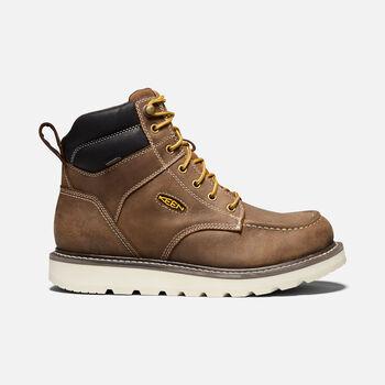 "Men's Cincinnati 6"" Waterproof Boot (Soft Toe) in Belgian/Sandshell - large view."